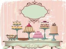 Bufete doce Foto de Stock