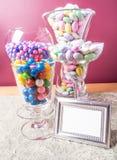 Bufete dos doces   Foto de Stock