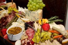 Bufete enorme dos alimentos Fotos de Stock