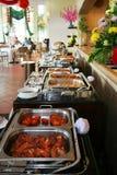 Bufete no restaurante Imagem de Stock Royalty Free
