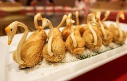 Bufete no restaurante de Nagaworld, Phnom Penh Foto de Stock