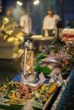 Bufete sortido do alimento Fotos de Stock
