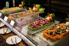Bufete sortido do alimento Imagem de Stock Royalty Free