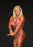Buff Blonde Middle-Aged Bodybuilder Lizenzfreie Stockbilder