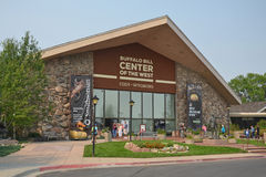 Buffalo Bill Center Fotografia Stock Libera da Diritti
