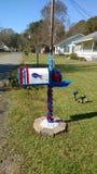 Buffalo Bill Mailbox images libres de droits