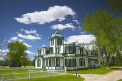 Buffalo Bill Mansion. Farm and house of the famous Buffalo Bill near North Platte in Nebraska Royalty Free Stock Image