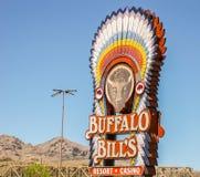 Buffalo Bill semesterort och kasino Arkivfoto