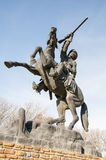 Buffalo Bill Statue Image stock