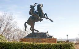 Buffalo Bill Statue Stock Photography