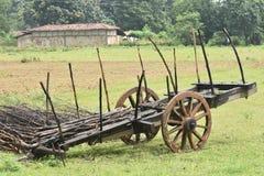 Buffalo cart royalty free stock photography