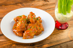 Buffalo chicken hot wings Stock Image