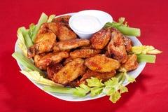 Buffalo chicken wings Stock Photography