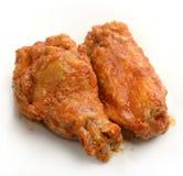 Buffalo Chicken Wings. Close Up stock photos