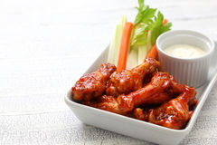 Buffalo chicken wings Royalty Free Stock Photos
