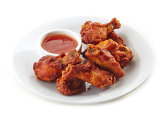 Buffalo chicken wings royalty free stock photo