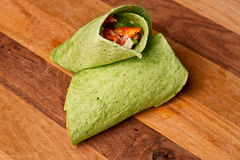 Buffalo Chicken Wrap Stock Photos