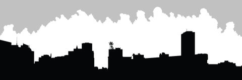 Buffalo City Skyline Stock Images