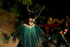 Buffalo dance Stock Photo