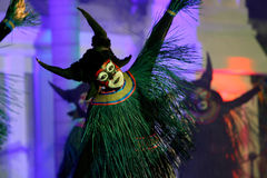 Buffalo dance Royalty Free Stock Photo