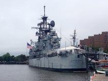 Buffalo e parco navale & militare della contea di Erie fotografia stock libera da diritti