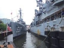 Buffalo e parco navale & militare della contea di Erie immagine stock