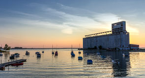 Buffalo grain elevators royalty free stock photo