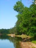Buffalo Lake - northwoods Wisconsin. View of Buffalo Lake in the northwoods of Wisconsin royalty free stock photography