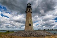 Buffalo Lighthouse on Lake Erie, NY, USA Stock Image