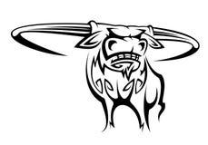 Buffalo mascot Stock Photography