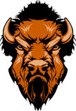 Buffalo Mascot Vector Logo vector illustration