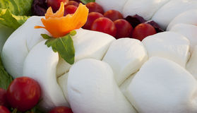 Buffalo milk mozzarella wedding banquet Royalty Free Stock Photography