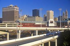 Buffalo, NY skyline Royalty Free Stock Image