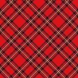 Buffalo plaid pattern. Seamless fabric texture print. Eps10 stock illustration
