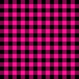 Buffalo plaid. Plastic pink tartan. Scottish cage royalty free illustration