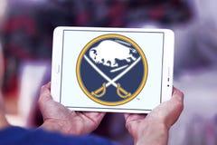 Buffalo Sabres zamraża drużyna hokejowa loga Zdjęcia Stock