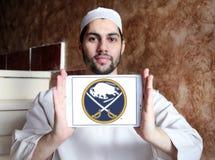 Buffalo Sabres zamraża drużyna hokejowa loga Zdjęcie Stock