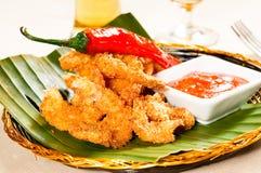Buffalo shrimps Stock Images