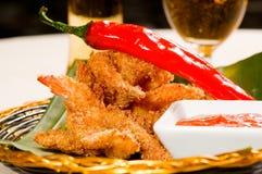 Buffalo shrimps Stock Photo