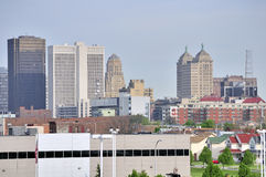 Buffalo Skyline Stock Images