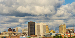Buffalo Skyline Royalty Free Stock Image