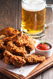 Buffalo style chicken wings Royalty Free Stock Images