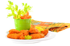 Buffalo Style Wings Stock Images