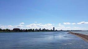 Buffalo Waterfront stock footage