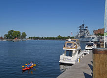Buffalo waterfront Royalty Free Stock Photography