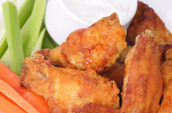 Buffalo wings Royalty Free Stock Photos