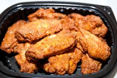 Buffalo wings Royalty Free Stock Photo