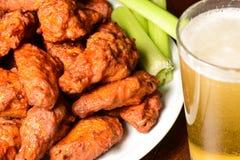 Buffalo Wings Stock Photo