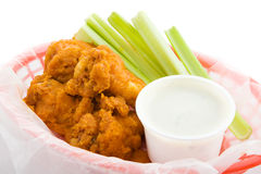 Buffalo Wings Closeup Stock Photography