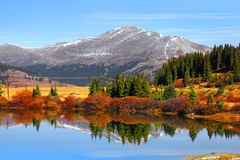 Buffehr lake Colorado Royalty Free Stock Images